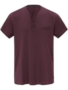 Schlaf-Shirt 1/2-Arm Jockey rot Größe: 50