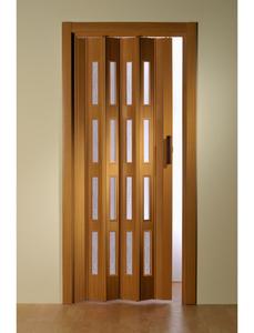 Falttür »Luciana«, Dekor: Buche, Lamellenfenster: 4, Höhe: 202 cm