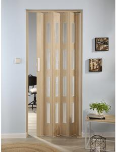 Falttür »Luciana«, Dekor: Esche, Lamellenfenster: 4, Höhe: 202 cm