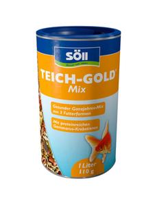 Teichfischfutter »TEICH-GOLD«, 1 Stück à 110 g