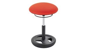 Sitzhocker - grau - Polstermöbel