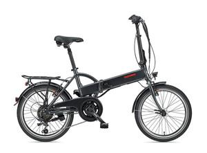 Telefunken E-Bike F820, Faltrad mit 6 Gang Kettenschaltung