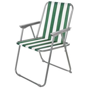 Solax-Sunshine Garten- und Camping Stuhl, Grün/Weiß