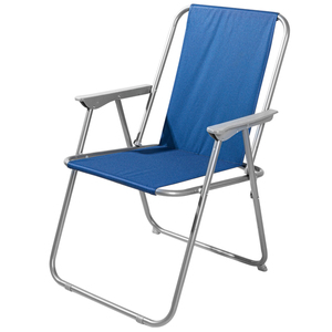 Solax-Sunshine Garten- und Camping Stuhl, Dunkelblau