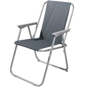 Solax-Sunshine Garten- und Camping Stuhl, Anthrazit