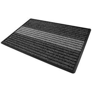 Lifetex XXL-Schmutzfangmatte, ca. 60 x 90 cm, Lines/Grau