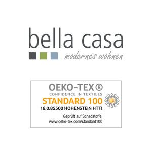 """BELLA CASA Wachstuch-Tischdecke """"Ecotex"""", ca. 100 x 140 cm, Struktur Silbergrau"""