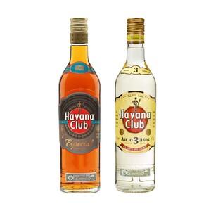 Havana Club Rum, 3 Jahre oder Añejo Especial 40/40 % Vol. und weitere Sorten, jede 0,7-l-Flasche
