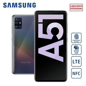 Smartphone Galaxy A51 A515F • 4-fach Hauptkamera mit Weitwinkel-, Ultraweitwinkel-, Makro- und Bokeh-Objektiv (48 MP + 12 MP + 5 MP + 5 MP) • 32-MP-Frontkamera • 4-GB-RAM, bis zu 128 GB inte