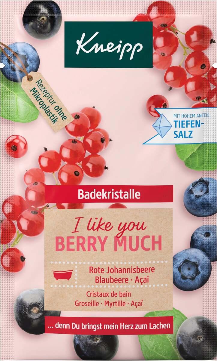 Bild 1 von Kneipp Badekristalle I like you berry much 60 g
