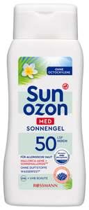 Sunozon Med Sonnengel Med LSF 50