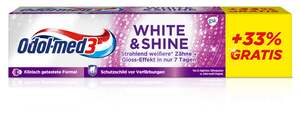 Odol med3 White & Shine Zahnpasta + 33% gratis