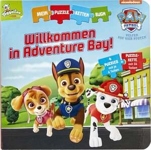 IDEENWELT Mein Puzzle-Ketten-Buch Paw Patrol