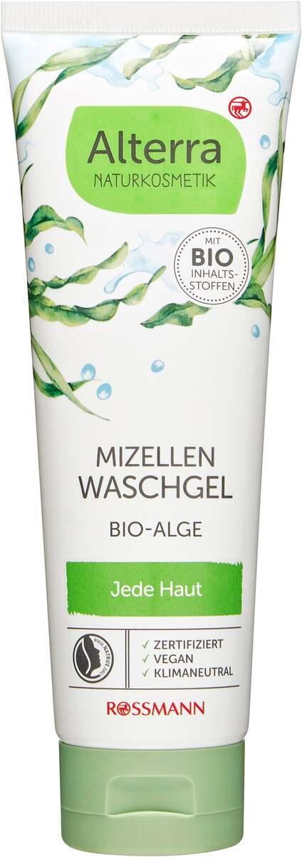 Bild 1 von Alterra NATURKOSMETIK Mizellen Waschgel Bio-Alge