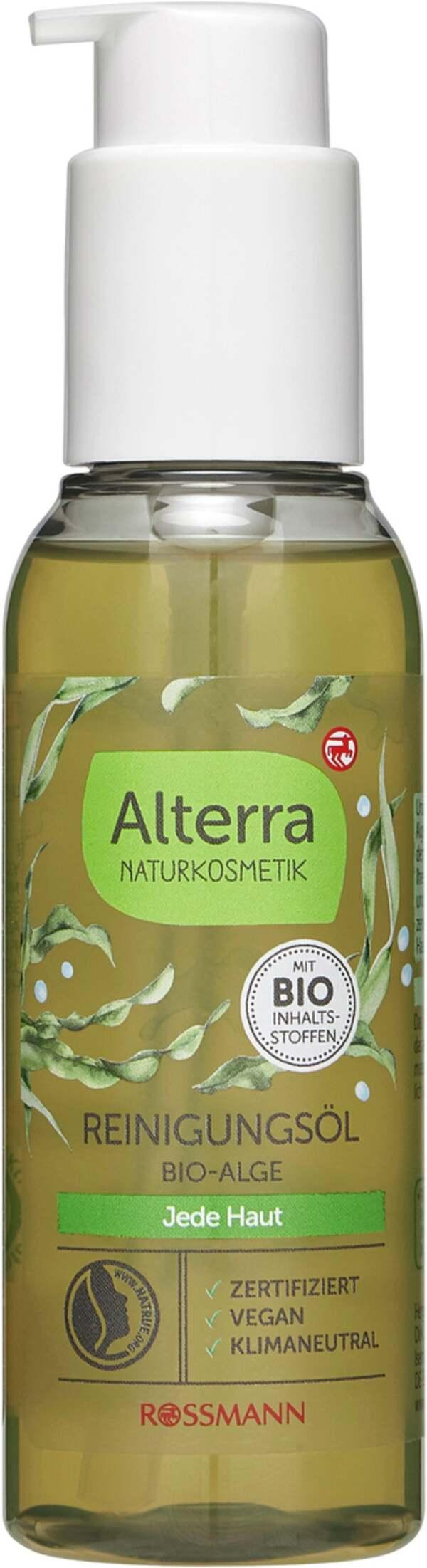 Alterra NATURKOSMETIK Reinigungsöl Bio-Alge