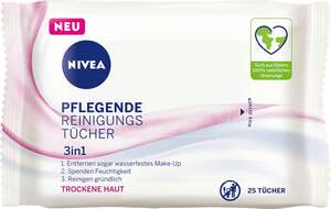 NIVEA Pflegende Reinigungstücher 3in1