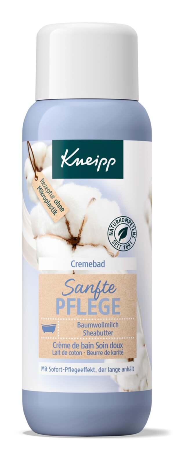 Kneipp Cremebad Sanfte Pflege Baumwollmilch, Sheabutter