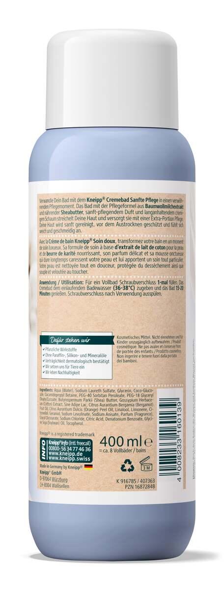 Bild 2 von Kneipp Cremebad Sanfte Pflege Baumwollmilch, Sheabutter