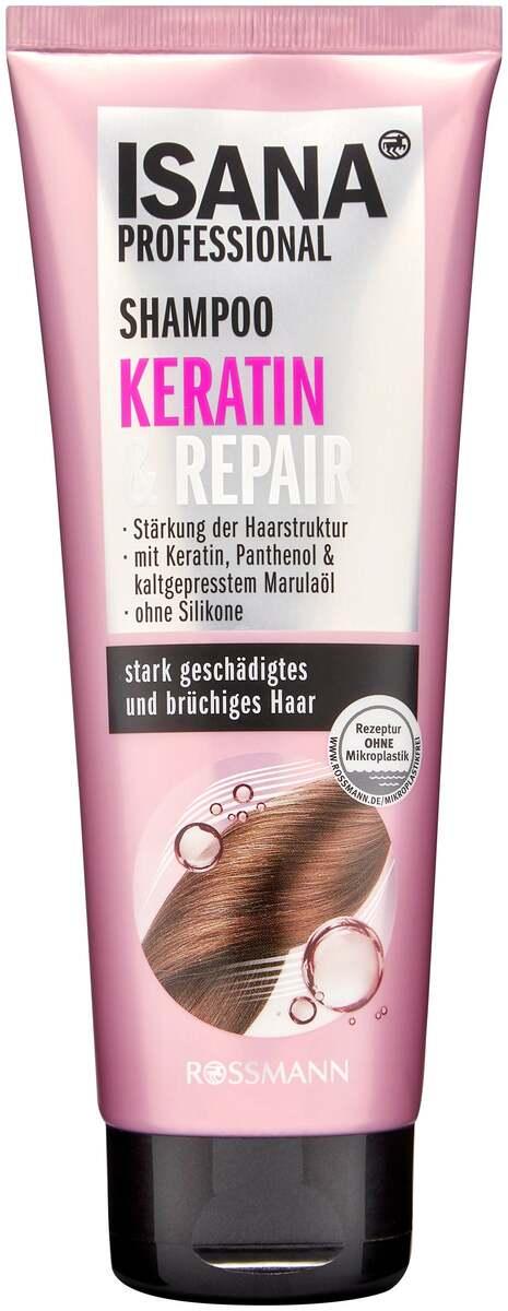 Bild 1 von ISANA PROFESSIONAL Shampoo Keratin & Repair