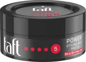 Schwarzkopf Taft Styling Wax Power Haltegrad 5 - sehr starker Halt