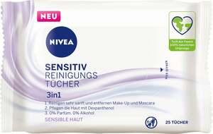 NIVEA Sensitiv Reinigungstücher 3in1