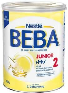 BEBA Junior 2 ab dem 2. Geburtstag
