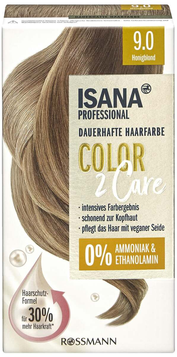 Bild 1 von ISANA PROFESSIONAL Color2Care 9.0 Honigblond