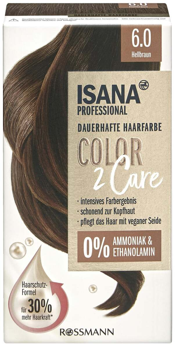Bild 1 von ISANA PROFESSIONAL Color2Care 6.0 Hellbraun