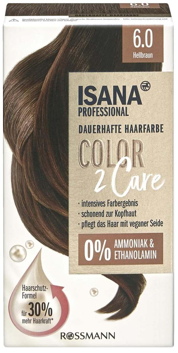 ISANA PROFESSIONAL Color2Care 6.0 Hellbraun