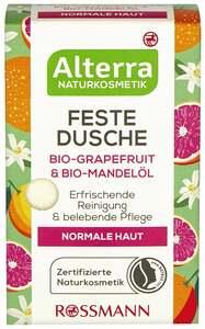 Alterra NATURKOSMETIK Feste Dusche Bio-Grapefruit & Bio-Mandelöl