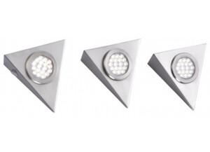 LED-Unterbauleuchte 1119-55-3 3er-Set silberfarbig