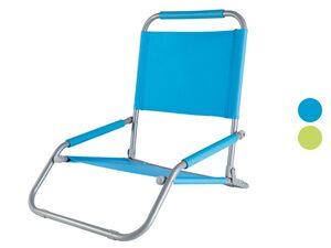 CRIVIT® Strandstuhl, klappbar, mit Stahlgestell