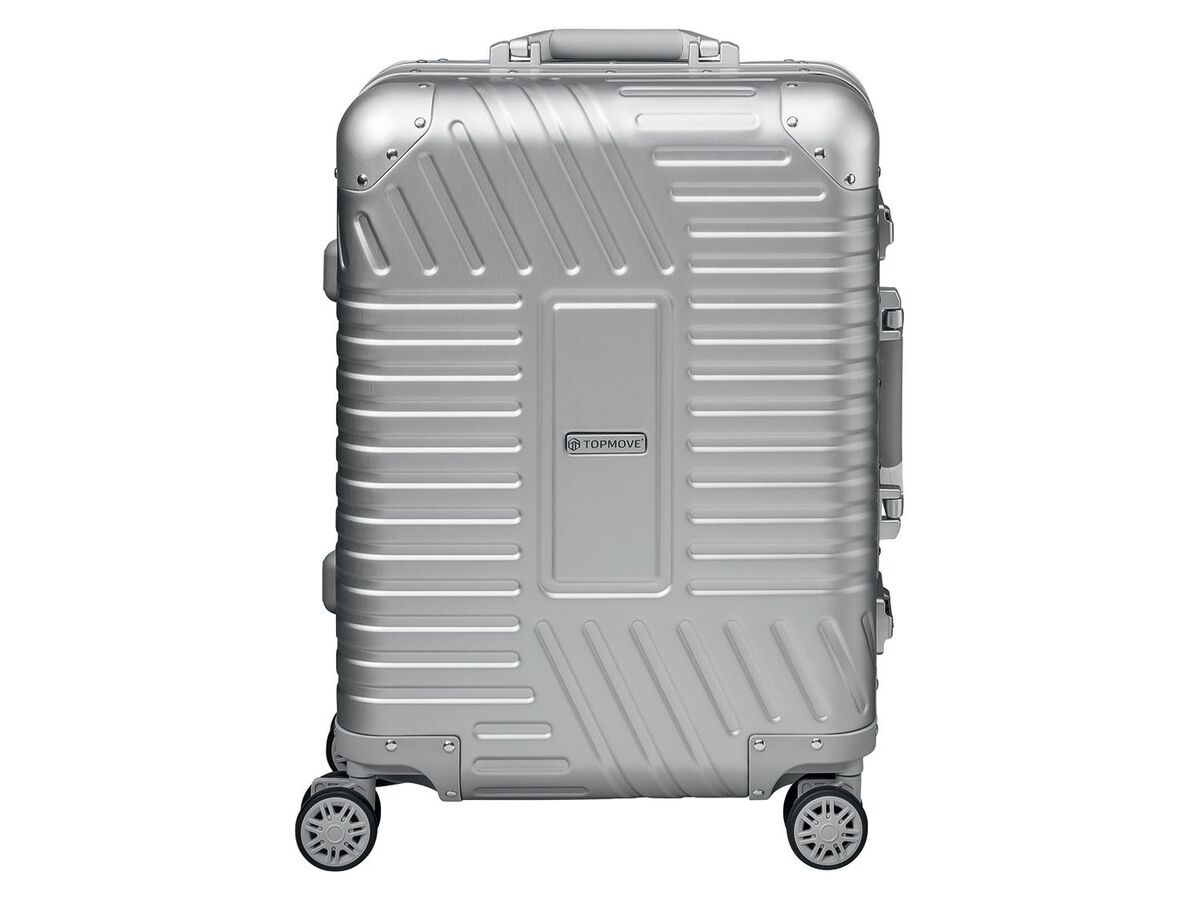 Bild 1 von TOPMOVE® Aluminium Koffer 32L, silber