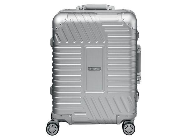 TOPMOVE® Aluminium Koffer 32L, silber