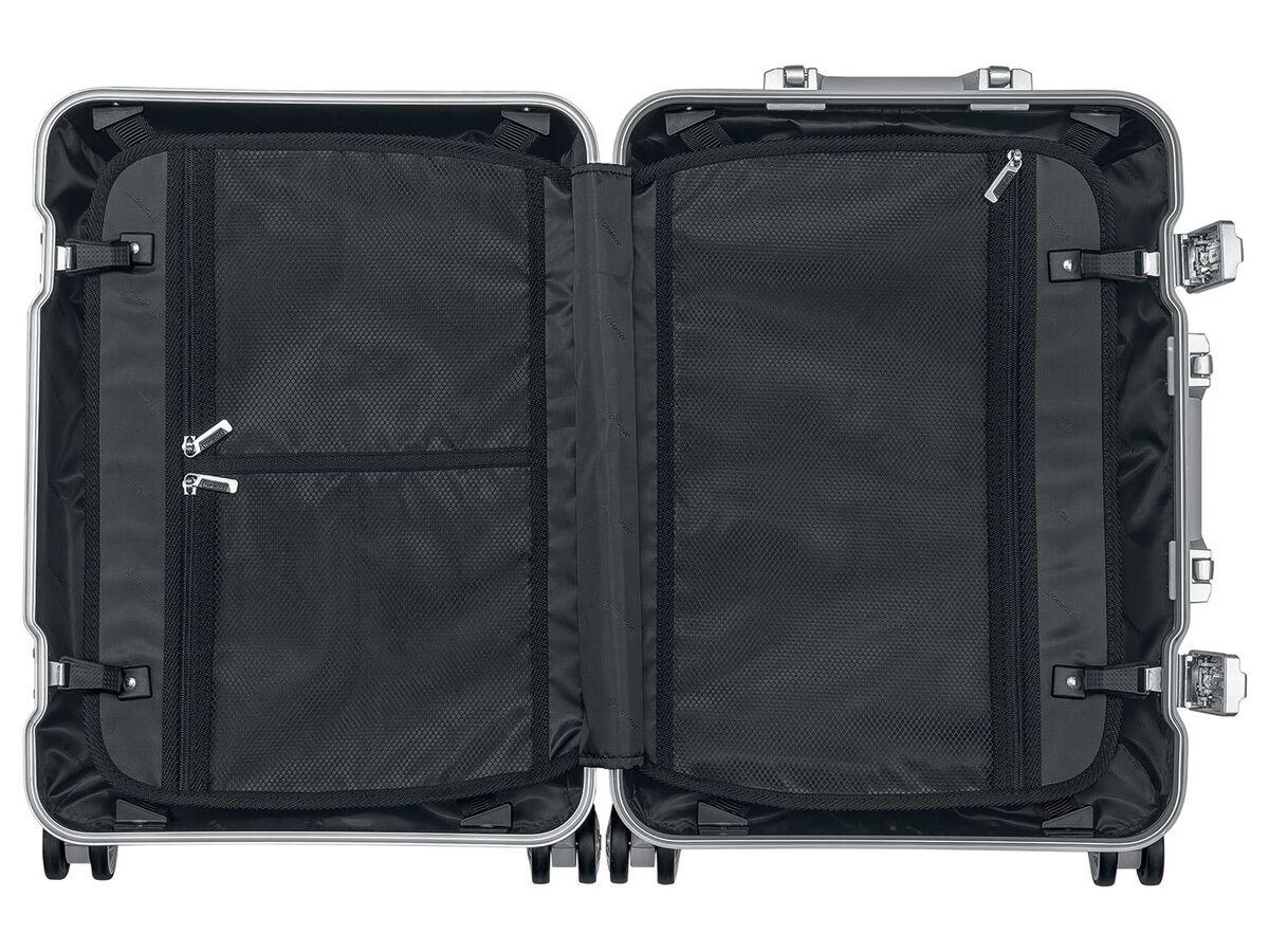 Bild 3 von TOPMOVE® Aluminium Koffer 32L, silber
