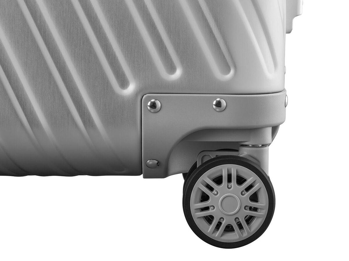 Bild 5 von TOPMOVE® Aluminium Koffer 32L, silber