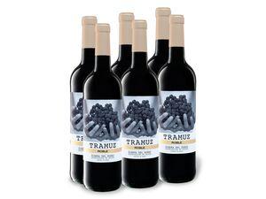 6 x 0,75-l-Flasche Weinpaket Tramuz Ribera del Duero Roble DO trocken, Rotwein