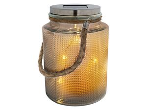 MELINERA® LED-Glas, mit Solar