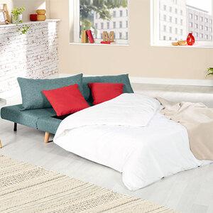 Sofabett, 2-Sitzer, türkis1