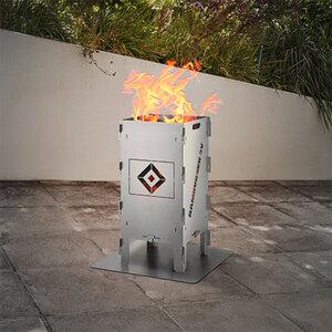 Fußball-Feuersäule Hamburger SV1