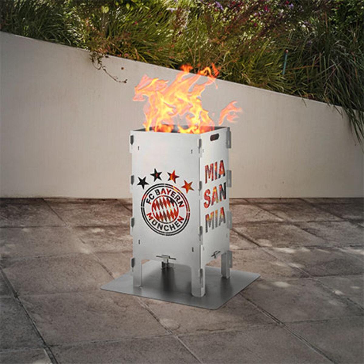 Bild 1 von Fußball-Feuersäule FC Bayern München1