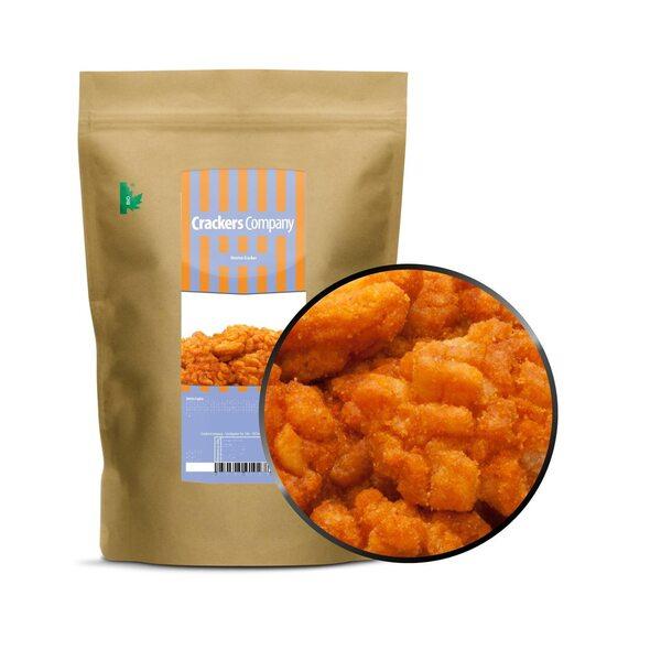 CrackersCompany - Hotrice Cracker - Gebratene Reiscracker mit Chili und Soja - ZIP Beutel 150g