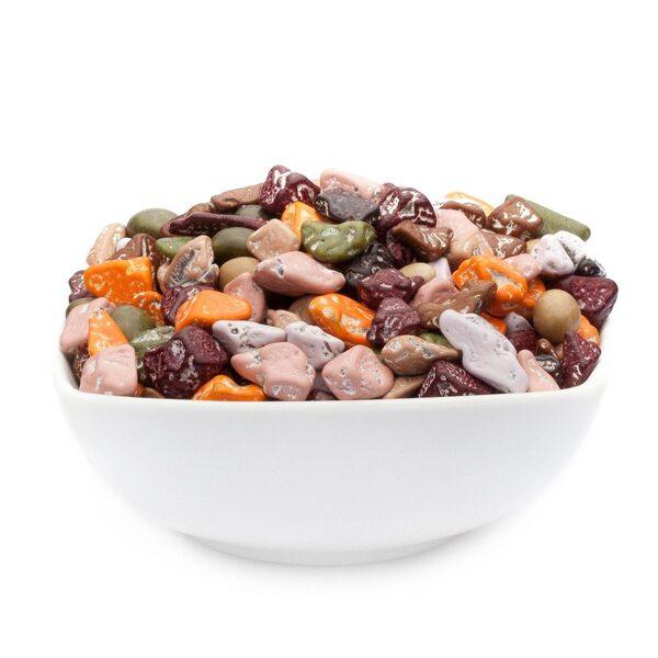 CrackersCompany - Choco Stones - Farbige Schoko Kieselsteine - Vorratspackung 5kg