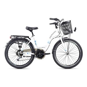 KS Cycling Kinderfahrrad 24'' Geroni Siro für Mädchen, Größe: 40, Weiß