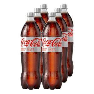 Coca-Cola Light 1,25 Liter, 6er Pack