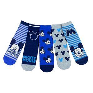 Kinder Lizenz Socken 5er - Mickey - Gr. 27-30