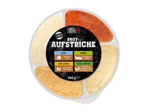 Grillmeister Brot-Aufstriche