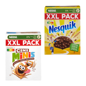 NESTLÉ     Cerealien XXL