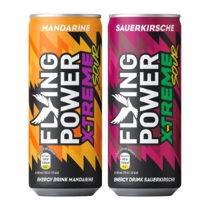 FLYING POWER     Energy Drink X-Treme Sour