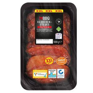 BBQ Marinierte Hähnchensteaks, XXL-Packung 1 kg